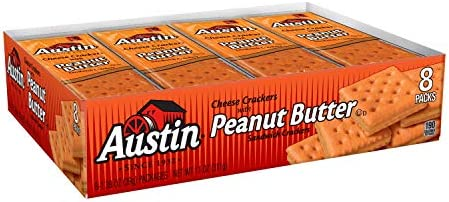 Austin Sandwich Crackers Crackers Cheese With Peanut Butter 8 280lb Case 12 Count product image