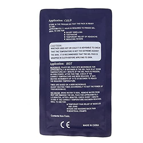 Shipenophy Bolsa de Fisioterapia fría Cinturón de Cuidado Cinturón para Bolsa de Hielo 23 * 13cm para tratamientos fríos y Calientes