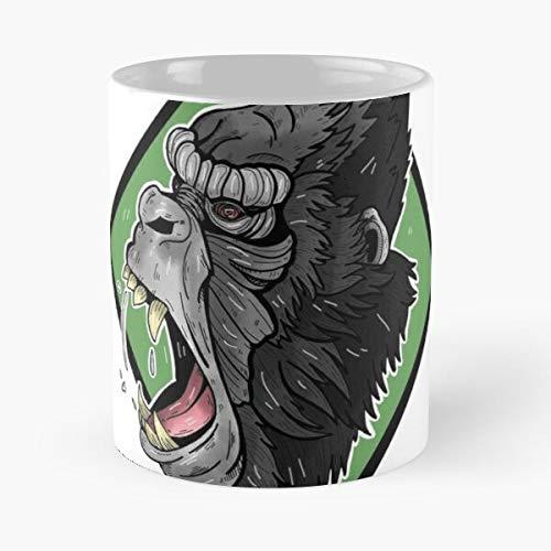 Generic King Monster Ape Gorillas Movies Kong Gorilla Best 11 oz Kaffeebecher - Nespresso Tassen Kaffee Motive