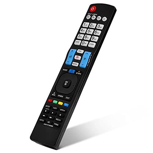 KUIDAMOS Control Remoto, Controlador Universal Inalámbrico para La Mayoría De Los Controladores Rempte, para TV LCD LED
