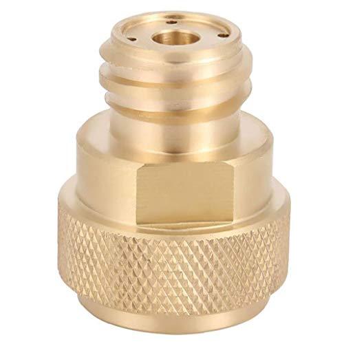 Sanfiyya Ersatz für SodaStream CO2-Tank Paintball Kanister Refill-Adapter C02-Umwandlung - Messing poliert
