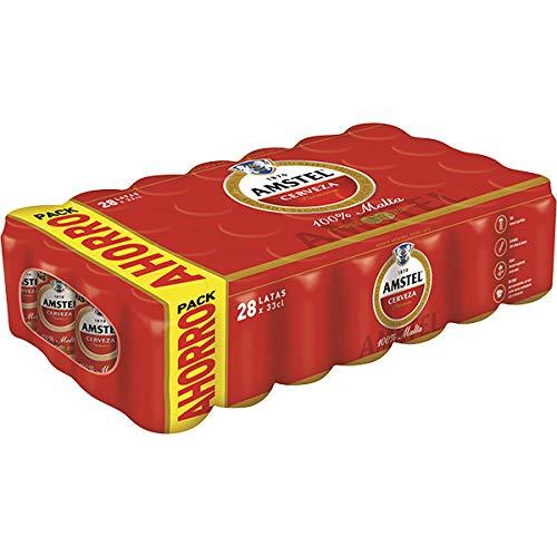 Bier Amstel Original 28x33cl (Pack 28 Dosen)
