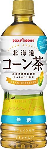 ポッカサッポロ 北海道コーン茶 525ml ×24本