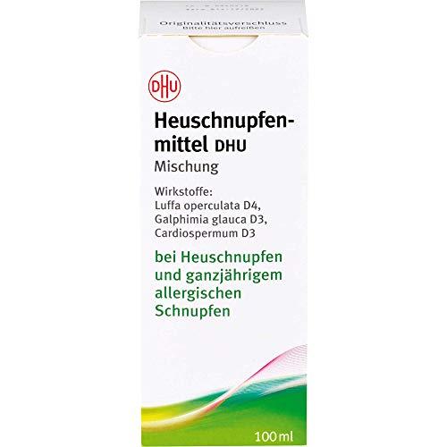 Heuschnupfenmittel DHU Mischung bei Heuschnupfen und ganzjährigem allergischen Schnupfen, 100 ml Lösung