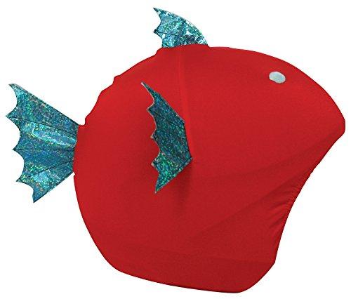 Cool Casc Animals Fish Protection Casque Jeunesse Unisexe, Rouge, Taille Unique