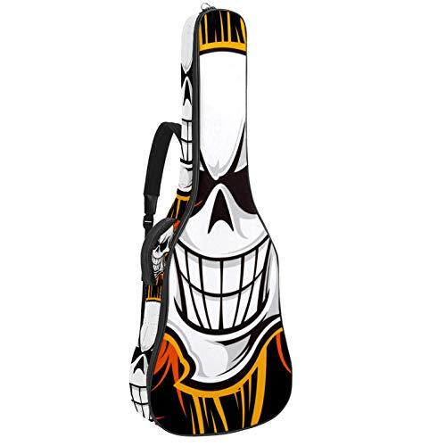 Bolsa para guitarra eléctrica de 41 106 cm, acolchada, impermeable, doble correa...