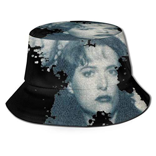 GGdjst Sombreros de Cubo, The X Files Fisherman Beanie Black Printing Design One Size Sombrero De Sol Gorra Plana para Mujeres De Hombres