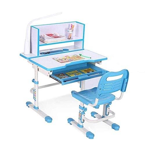 Tägliche Ausrüstung Kinder-Schreibtisch- und Stuhl-Set Kinder-Schreibtisch- und Stuhl-Set Multifunktionaler Childen-Studiertisch Schülerschreibtisch Höhe Höhenverstellbarer Kinder-Studiertisch Büch