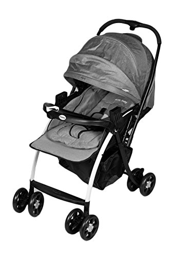 GTC® Baby Stroller with Sports Convertible Baby Car Seat- (IT N 712) (Grey)