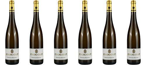 Weingut Kühling-Gillot Nierstein Riesling trocken DE-ÖKO-039* Rheinhessen 2018 Wein (6 x 0.75 l)