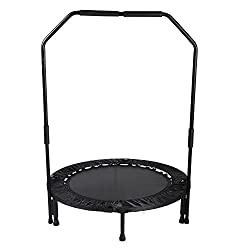 Foldable 40 Inches trampoline with Bar