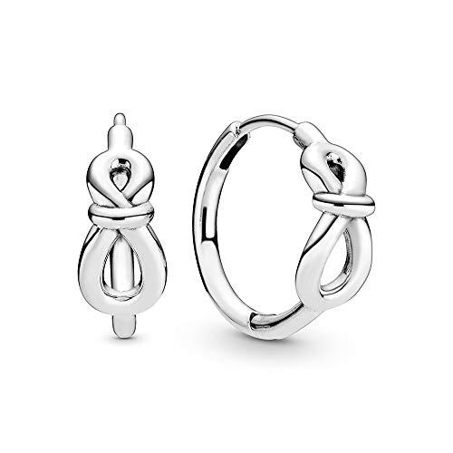 Pandora Pendientes de aro Mujer Plata esterlina No aplicable - 298889C00