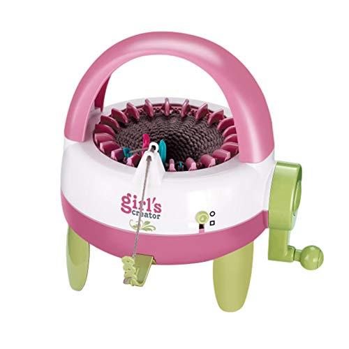 Feichanghao - Máquina de tejer, 22 agujas para tejer, loom Kit de bricolaje, bufanda, sombrero, mano, tejer, máquina de juguete para niños y adultos