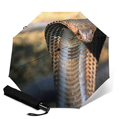 Cobra, Sonnen- und Regenschirm, leicht, kompakt, mit UV-Schutz, für Damen und Herren, mehrere Farben