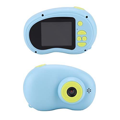 Digitale camera voor kinderen, mini kindercamera Kids Video Camera met 2,0 inch HD scherm, 8 megapixels, anti-verloren sleutelband, speelgoed camera voor kinderen - roze/blauw, blauw