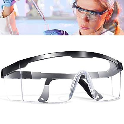 5 Pcs Gafas Proteccion, LETOUR Gafas de Seguridad Protección UV Para los ojos, Lentes Transparentes Antivaho…