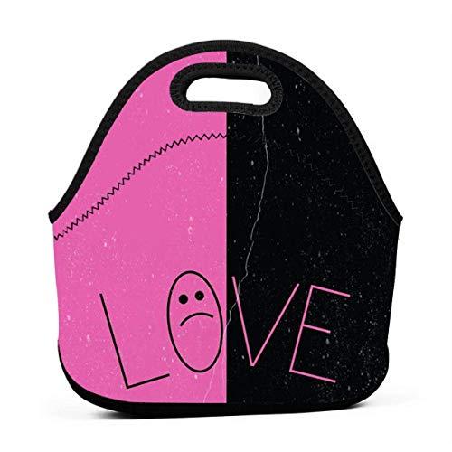 Neopren-Lunch-Tasche Lil Love-Peep Dick Wiederverwendbare isolierte Thermo-Lunch-Tasche Kleine wasserdichte Lunchbox Handtaschen Tasche für Picknick im Freien LCH-665