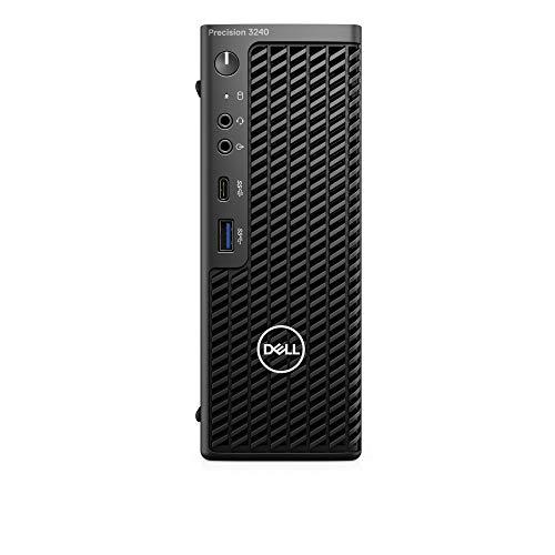 Dell 3240 Compact USFF - 1 procesador Core i7 10700 de 2,9 GHz, Memoria RAM de 16 GB, S, Color Negro