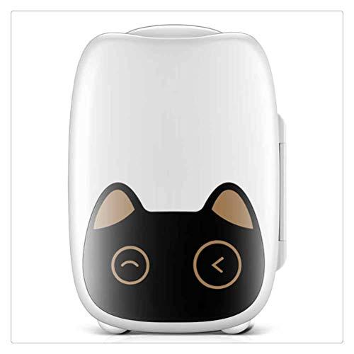WNDRZ Mini Mini Nevera para Coche/Hogar De 6L, Alquiler De Hogares Pequeños, Refrigeración para Estudiantes, Dormitorio, Máscara De Almacenamiento, Cosméticos