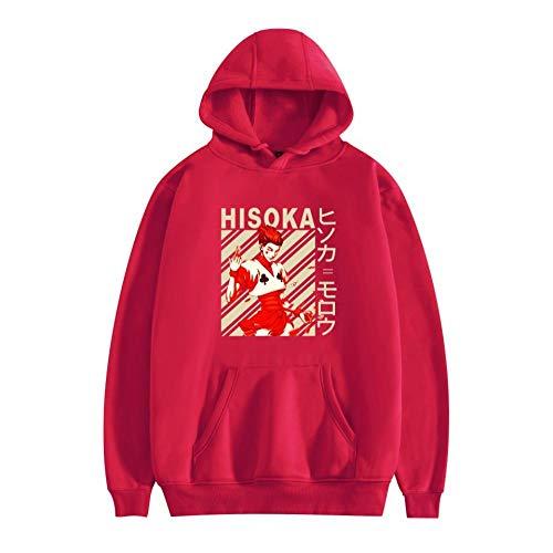 Anime Hunter X Hunter Hoodie HxH Sudadera Unisex Pullover Streetwear Clásico Casual Otoño Invierno Abrigo de Manga Larga Disfraz para Hombres y Mujeres-A_M