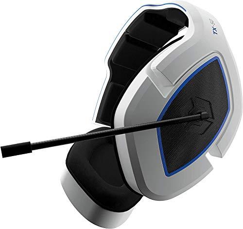 Gioteck TX50 - Kabelgebundenes PS4 Gaming-Headset - Mikrofon mit Geräuschunterdrückung - 3,5-mm-Klinkenkabel - Gamer-Headset Kompatibel mit Switch/PS4/PS5/Xbox One/Serie und PC (Weiß/Schwarz)