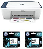 HP DeskJet 2723 All in One Wireless Inkjet Printer & HP 805 Black