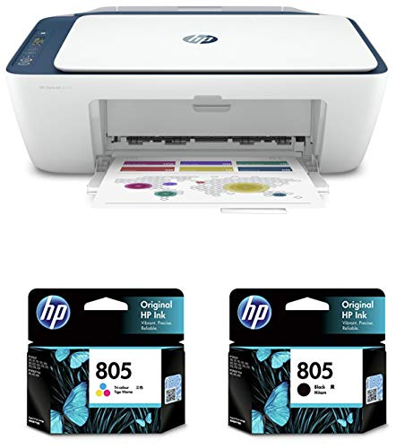 HP DeskJet 2723 All in One Wireless Inkjet Printer & HP 805 Black Inkjet & HP 805 Tricolor Inkjet Combo