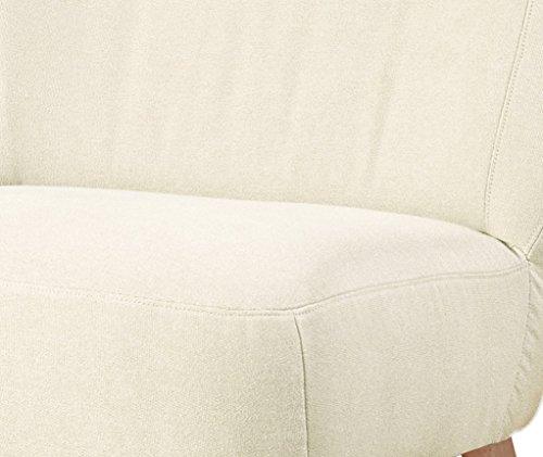 Max Winzer Sessel Lara   Aus Flachgewebe in Cremefarben   73,6 x 70,2 x 64,6 cm   2791-1100-1644815