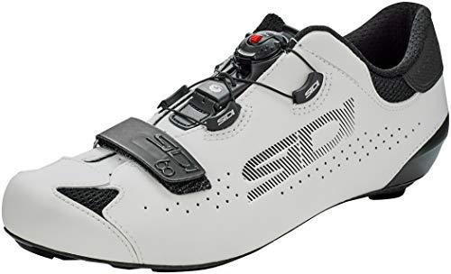 Sidi Sixty Schuhe Black/White Schuhgröße EU 45 2021 Rad-Schuhe Radsport-Schuhe