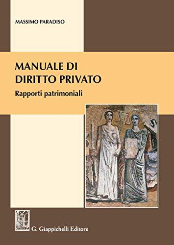 Manuale di diritto privato. Rapporti patrimoniali
