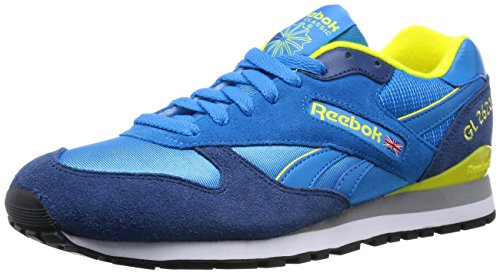 Reebok GL 2620, Herren Sneakers, Blau (Energyblue/Batikblue/Stngryllw/Wht/Fltgry/Blk), EU 40 (UK 6.5 / US 7.5)