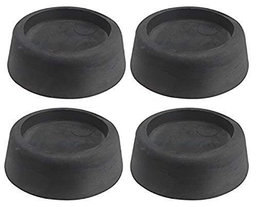Zoek een Reserve Anti-Vibratie Rubber Voeten Pads Set voor Wasmachines en Drogers (Zwart/Pack van 4)