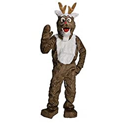 Reindeer Adult Mascot Costume Size Standard
