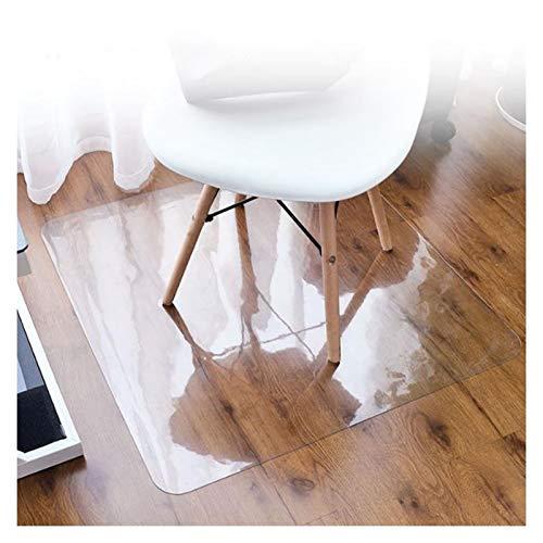 LSSB PVC Plastico Manteles Transparente Protector de Mesa a Prueba de Agua Tabla Plástico Pad Absorbente de Sonido Resistente a Rayones Alfombra del Piso para Mueble de TV Oficina Hogar, 3 Espesores