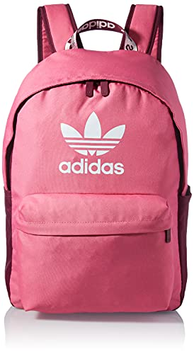adidas, Adicolor Backpk , Zaino, Tono Rosa / Vittoria Cremisi / Bianco, Ns, Unisex Adulto