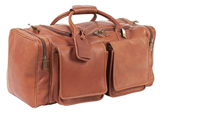 Claire Chase Hampton's Duffel, Saddle, One Size