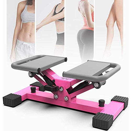 HFJKD Mini Stepper Exercise Stepper Machine Legs Arms Thigh Toner Toning Trainer Workout Platform Lightweight Walking Machine for Home Office Use