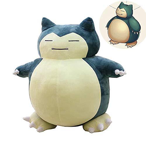HWWGG Pokémon Große Relaxo Plüschfigur, Detailgetreu Und Hochwertig Verarbeitet, Aus Weichem Polyester, Für Alle Pokémon Fans 30 cm/Blau