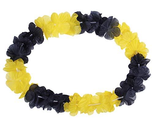 Alsino Hawaiiketten Dortmund schwarz gelb Blumenketten Hawaii Ketten 27