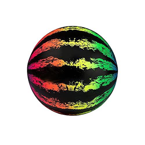 FOTBIMK Swimming Pool Ball Wassermelonenball 9 Zoll Ballfüllungen Adapter für Unterwasser Pass Dribbling Tauchen Wasser Pool Spiele für Jugendliche Erwachsene mit Wasserinjektionszubehör