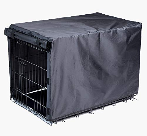 BH Dog Crate Cover for Large Dogs-Crate Cover for Wire Crates (48-inch)