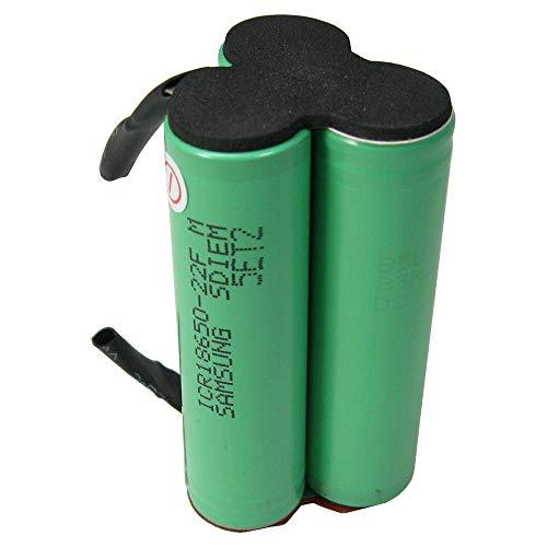 Trade-Batería de ion de litio-células de 10,8 V/2200 mAh para Bosch PMF 10,8 LI, PSM 10,8 LI, PSR 10,8 LI-2, Kaew, AGS 10,8, ASB 10,8, 2 607 336 863, 2 607 336 864 aptas para instalación