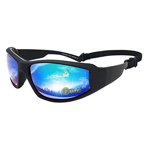 LUFF UV400 Outdoor Riding Occhiali da sole Occhiali per proteggere gli occhi da abbagliamento, adatto per il ciclismo Running Fishing Ski Golf (Green)