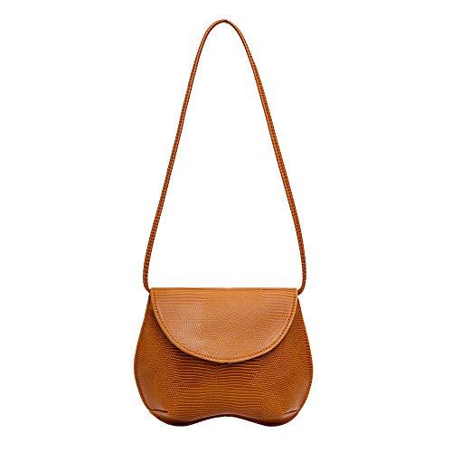 Fashion Women Messenger Flap Handbags Multicolor Love Alligator Pattern Heart-shaped Retro Shoulder Bag Street Casual Hasp Underarm Bag