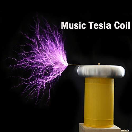VIEUR Musik Tesla Coil 20cm Solid State Tesla Coi Coil-Generator Ignition DIY Kit Treiber-Platine Blitz
