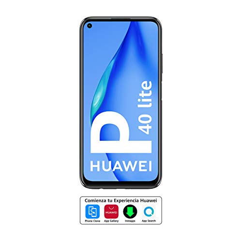 HUAWEI P40 Lite - Smartphone DS 6 GB 128 GB, Color Negro