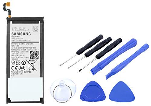 2in1-SET Akku für Samsung Galaxy S7 Edge - Ersatzakku Li-Ion mit 3600mAh inklusive Werkzeug Set