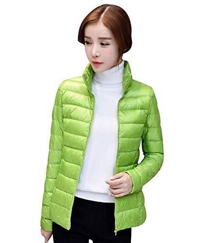 Lichtgewicht donsjack met doorgestikt patroon en kort dekbed voor de winter, modieus, licht, donsjas