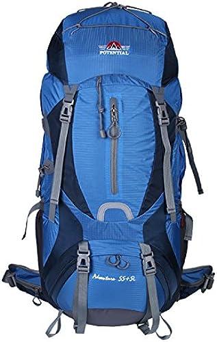 GWQGZ Sac à Dos De Voyage en Plein Air Loisirs Camping Sac à Dos De Randonnée à Pied Léger Bleu
