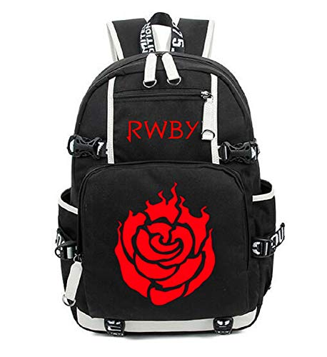YOYOSHome Anime RWBY - Bolsa de mensajero para cosplay, diseño de rosa rubí